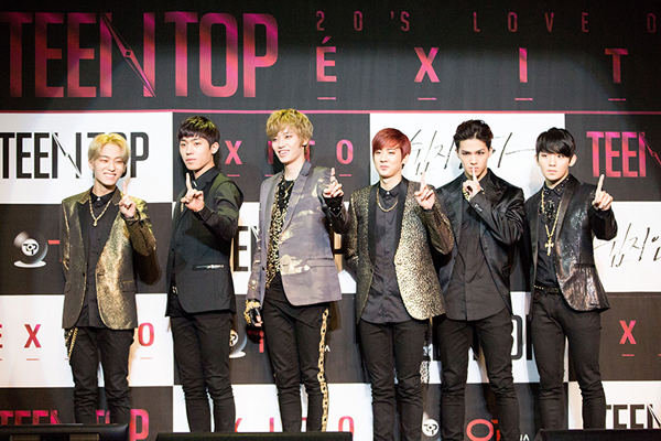 Teen Top Holds Press Conference for mini album ...