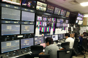 Main Control Room of HDTV